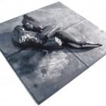 Klaus M. Hartmann, Stahlplastik, Paar, 1996