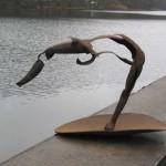 Klaus M. Hartmann, Stahlskulptur, Move, 1995