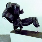 Klaus M. Hartmann, Minotaurus, Stahlplastik, 2010